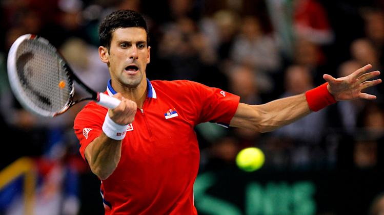 Serbia v Czech Republic - Davis Cup World Group Final: Day One