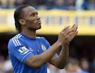 Newly-crowned European champions Chelsea confirmed on Tuesday that Ivory Coast striker Didier Drogba, seen here in March 2012, will leave the club when his contract expires at the end of June