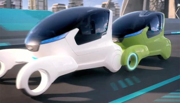 A Chery @Ant concept vehicle