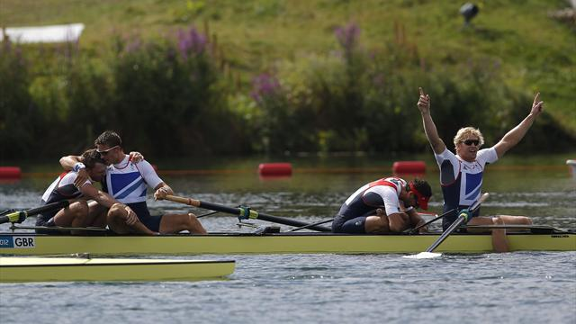Rowing - British eight looking for big improvements at Henley
