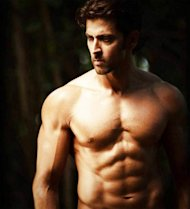 Article about How to Have a Body like Hrithik Roshan. Includes various Body-Building secrets of Hrithik Roshan. Quick and simple tips that Hrithik Roshan uses to build his body