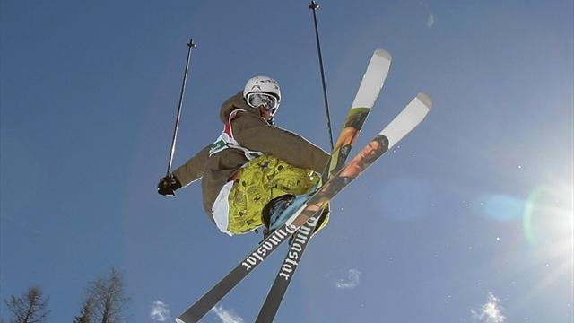 Freestyle Skiing - Riddle leaves it late to claim World Cup title