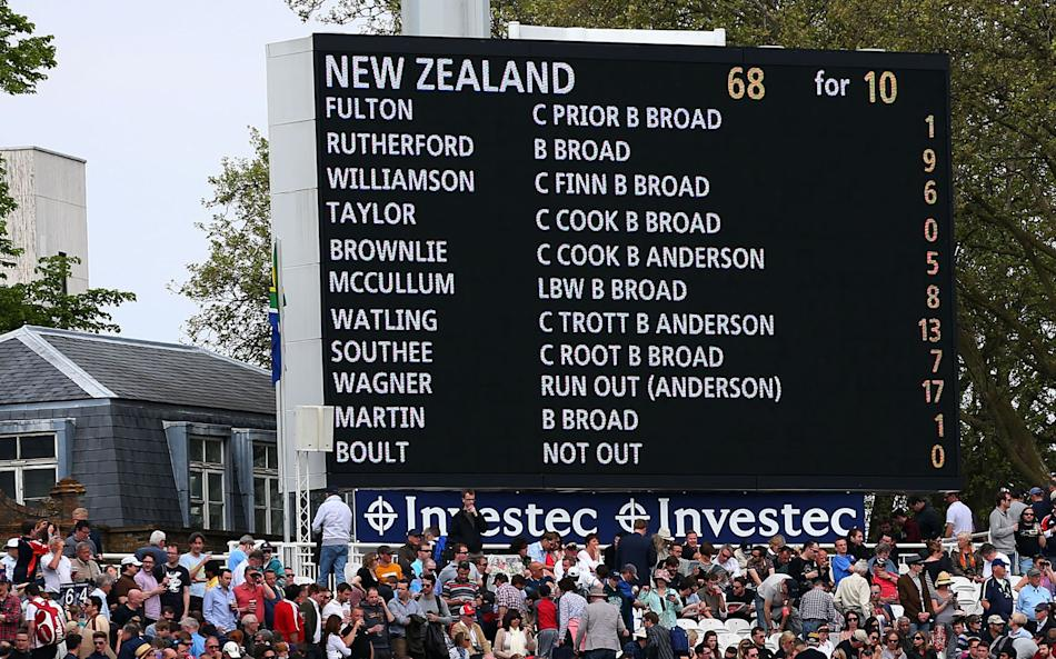 England v New Zealand: 1st Investec Test - Day Four