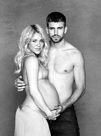 Shakira Shows Off Bare Baby Bump in New Picture, Hosts Virtual Baby Shower for Unborn Son
