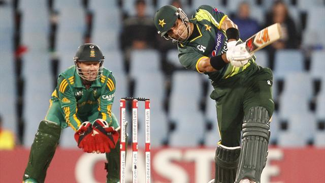 Cricket - Misbah leads Pakistan to series-levelling win