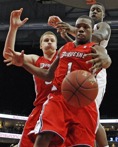 Pitt rolls to 66-45 win over Duquesne in City Game