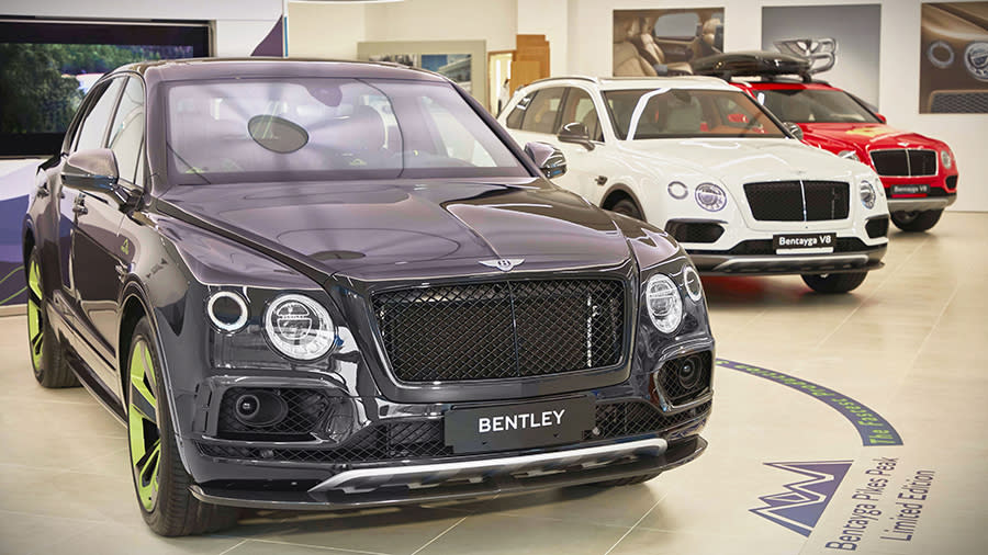 Bentley Bentayga Pikes Peak Limited Edition 限量車款首次亮相