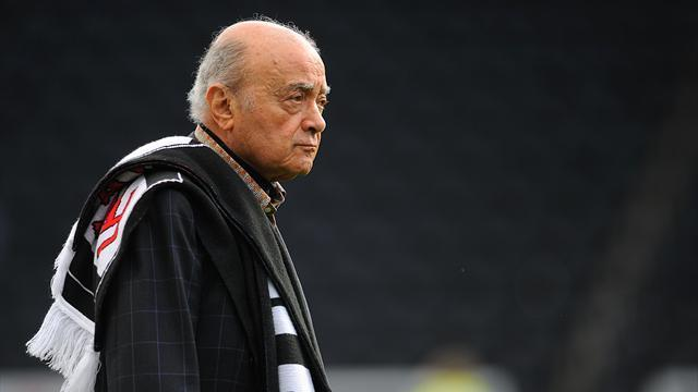 Premier League - Cottagers coy over Al Fayed reports