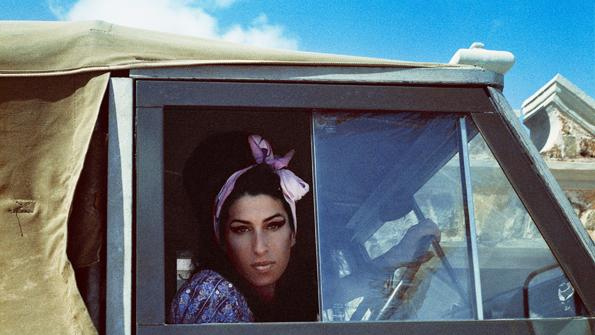Amy Winehouse Revs Up