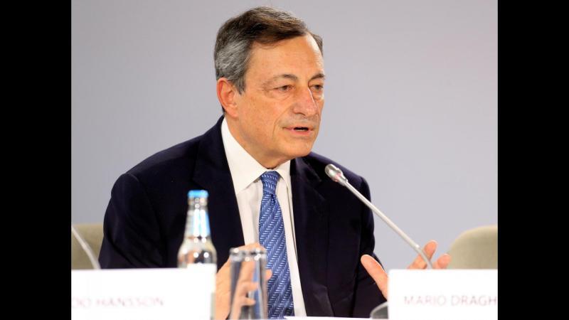"""Bce, Draghi: """"Eurozona ha ancora bisogno di sostegno monetario"""""""