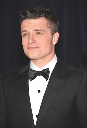 Josh Hutcherson arrives at the 98th Annual White House Correspondents' Association Dinner at the Washington Hilton in Washington, DC on April 28, 2012 -- Getty Images