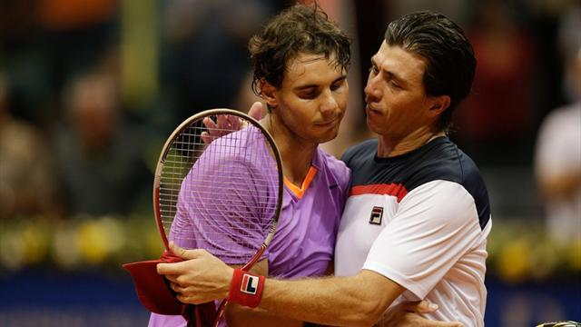 Tennis - Nadal rolls on in Sao Paulo