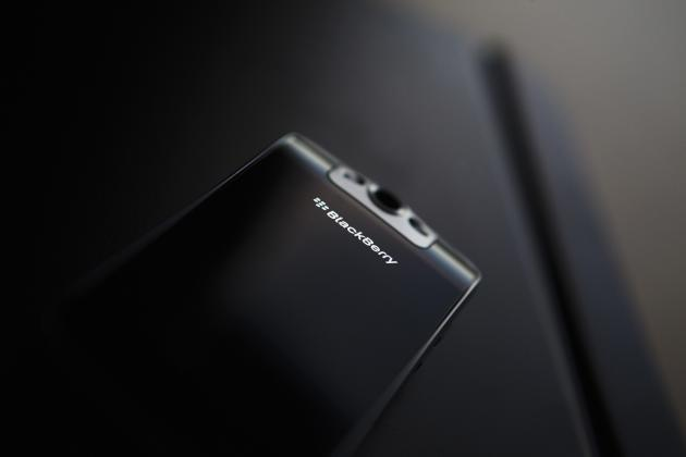 File photo of a Blackberry Bold 2 smartphone at the Research in Motion (RIM) headquarters in Waterloo