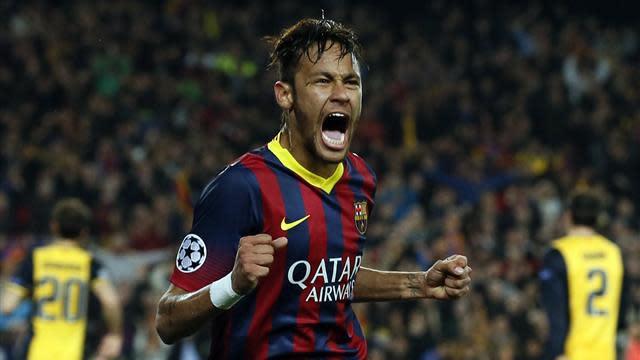 Liga - Neymar returns to boost Barca ahead of Atletico clash
