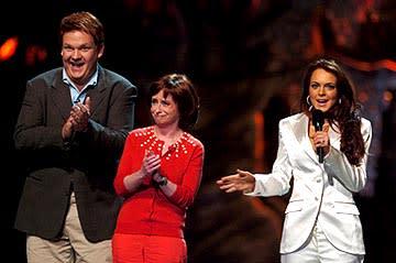 Andy Richter, Rachel Dratch and Lindsay Lohan MTV Movie Awards - 6/5/2004