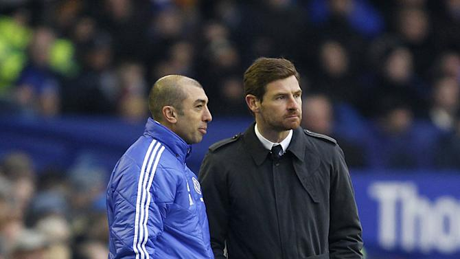 Former Chelsea boss Andre Villas-Boas, right, is not surprised at Roberto Di Matteo's, left, exit