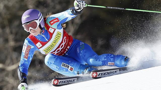 Alpine Skiing - Tina Maze wins St Moritz super combined