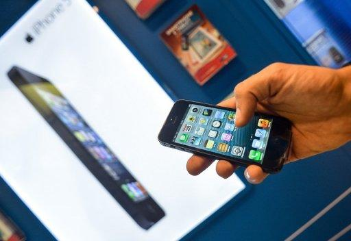 Apple has announced that the iPhone 5 will be available in the UAE on Friday, December 14, local daily 7Days reported, citing a company statement. Photo: AFP