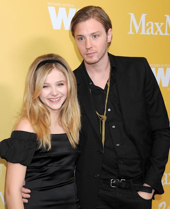 Chloe Grace Moretz and her brother