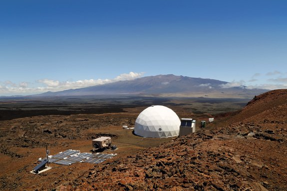 The HI-SEAS habitat on Mauna Loa.