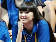 Teen Kazakh volleyball player wants fan to focus on her game, not looks.