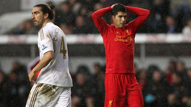Premier League - Swansea keep Rodgers and Liverpool at bay