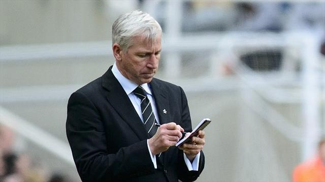 Premier League - Pardew's job safe but Newcastle want top 10