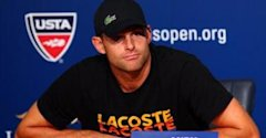 Andy Roddick at his retirement press conference (AFP) - 0