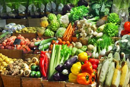 Visit a farm stand or farmers market