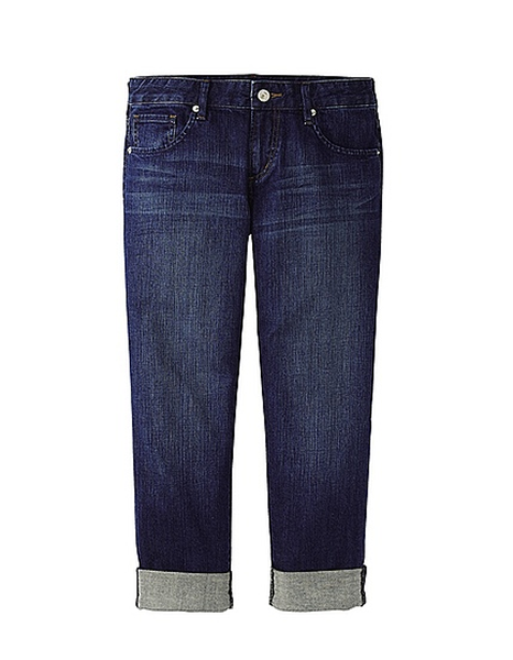 Women's Slim Boyfriend Fit Cropped Jeans, $39.90 at uniqlo.com