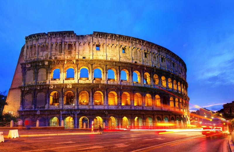 Sul triste declino di Roma