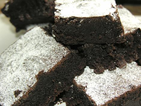 Aurora's perfect chocolate brownies