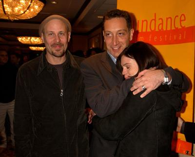 Terry Kinney, Moises Kaufman and Clea DuVall Opening Night Gala Sundance Film Festival 1/10/2002