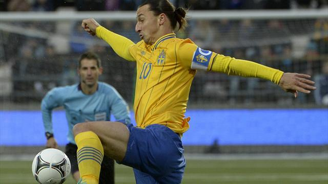Zlatan saves Sweden against Faroes