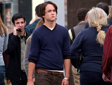 Justin Chatwin in Hollywood Pictures' The Invisible
