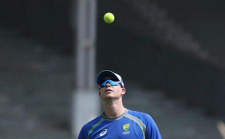 Cricket - Australia team practice session - Brabourne Stadium, Mumbai