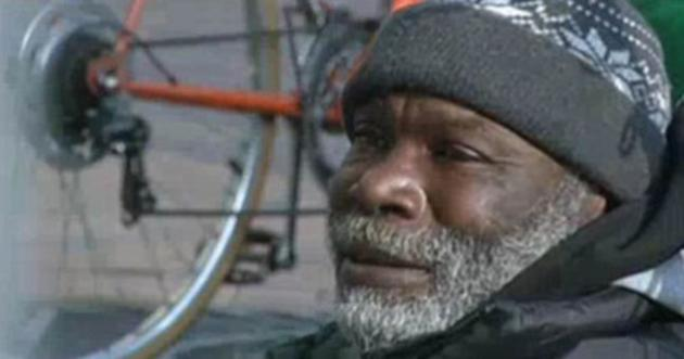 Homeless: Billy Ray Harris's good deed has earned him over $150,000 (KCTV 5)