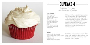 red velvet cupcake recipe (vegetarian) fourth of july