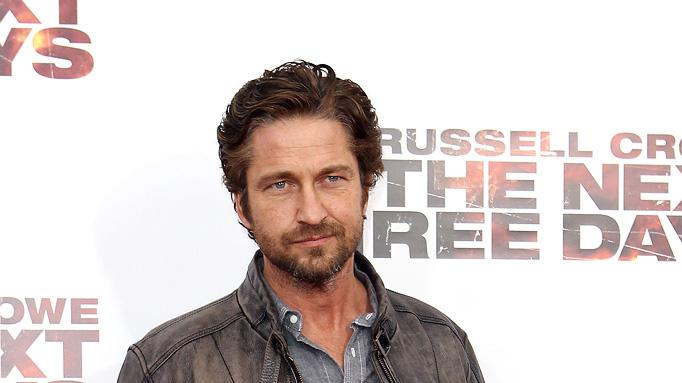 The Next Three Days 2010 NY Premiere Gerard Butler