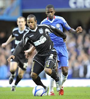 Jaime Peters, left, is leaving Ipswich after seven years with the club