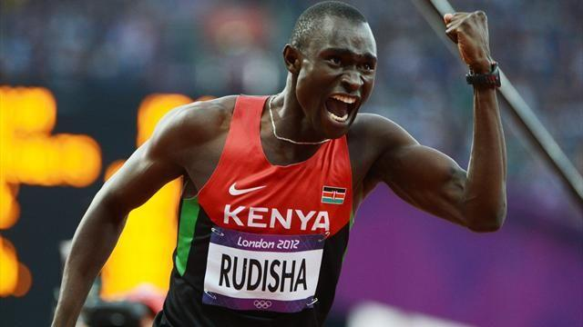 Athletics - Rudisha world title defence in doubt