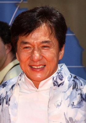 Jackie Chan at the Hollywood premiere of Walt Disney's Around the World in 80 Days