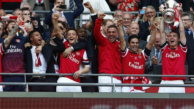 FA Cup - Arsenal end drought with comeback win over Hull
