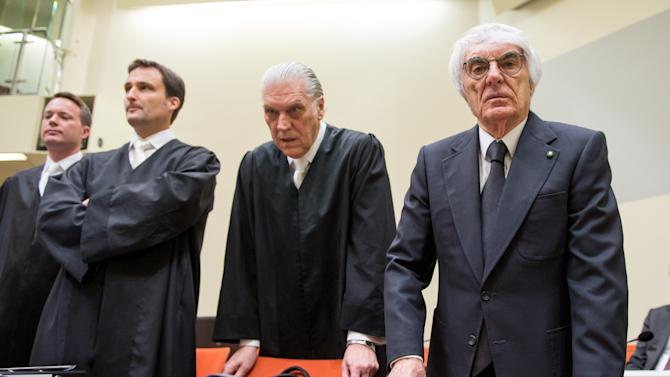 Bernie Ecclestone Trial In Munich