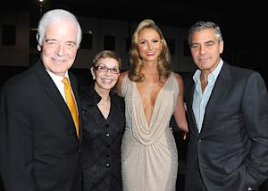PIC: Stacy Keibler Hangs With George Clooney's Parents