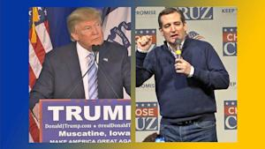 Donald Trump, Ted Cruz Face Off in Iowa