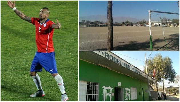 Chile and Juventus star Arturo Vidal's rise from humble beginnings to national hero