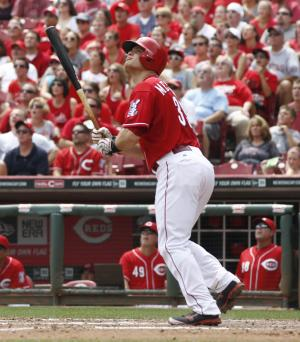 Mesoraco hits grand slam in Reds' win over Marlins
