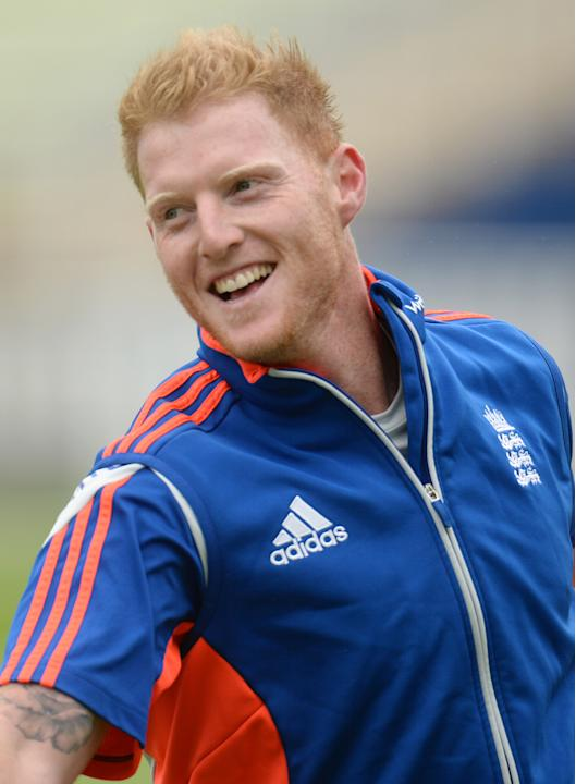 England's Ben Stokes during nets