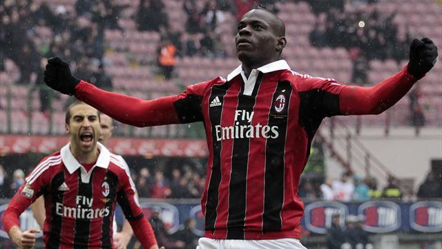 Serie A - Balotelli in Time Magazine's top 100 most influential people